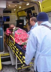 Транспортировка больного с травмой позвоночника с Одессы в Киев