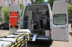 Транспортировка больных с черепно-мозговой травмой с Запорожья в Киев и за границу