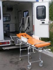 Услуги по встрече больных в аэропорту для транспортировки