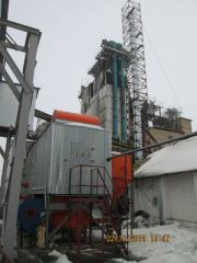 We transfer drying of elevators to solid fuel