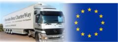 Cargo delivery automobile across Ukrainei and