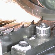 Welding sharpening and distributing of tape saws