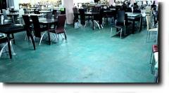 DUST REMOVAL AND HARDENING OF THE CONCRETE FLOOR