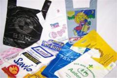 Flekso-pechat on polyethylene paper bags