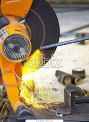 Production services. Production of a metalwork