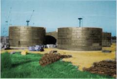 Услуга ремонта резервуаров для нефтепродуктов