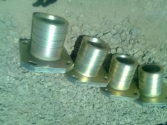 Molding of non-ferrous metals (aluminum, bronze,