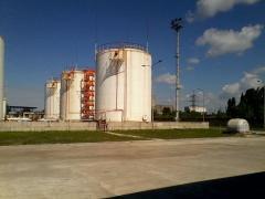 We offer reservoirs for vegetable oils of 1000 m3,