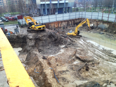 Development of ditch
