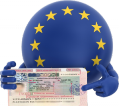 Виза шенген, рабочая, бизнес, Польша, Чехия, Єстония