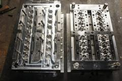 Production under the order of compression molds