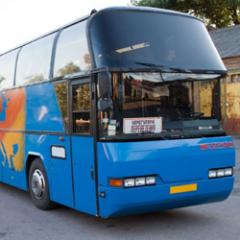 Установка автостекол на все виды автобусов