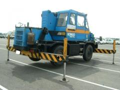 Rent of Kobelco truck cranes