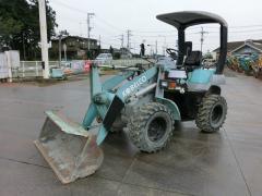 Lease of the Kobelco LK40 front-end loader in