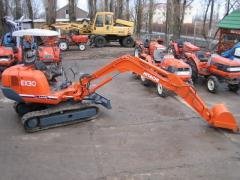 Rent pass the HITACHI EX30 excavator in Odessa