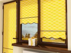 Изготавливаем рулонные шторы