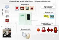 Проектирование  пожарной и охранно-пожарной сигнализации