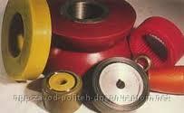 Gumming of wheels polyurethane