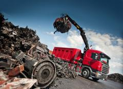 Export of scrap metal