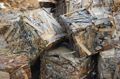 Processing of scrap metal