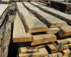 Board, bar, lath of coniferous breeds under the