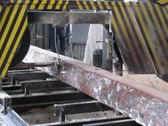 Услуги по распиливанию древесини на брус,доску