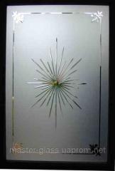 Гравировка стекла толщиной 4,5,6,8,10мм