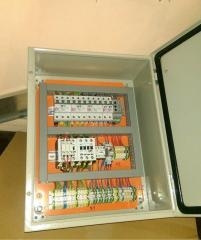 Development and assembly of electric control
