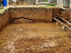 Отбор проб грунта из котлованов