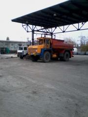 Construction of autobulk platforms for filling