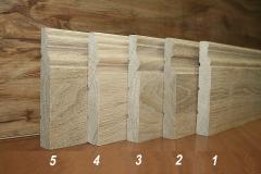 Изготовление плинтуса деревянного из массива