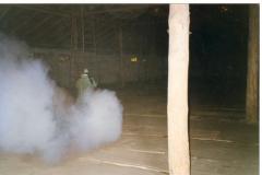 Фумигация зерна, газация складских помещений.
