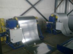 Изготовление профилегибочного оборудования для обработки листового металла.