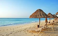 Alluvium of sandy beaches