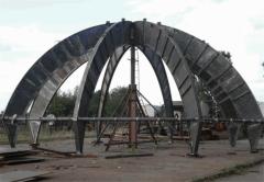 Производство металлических куполов