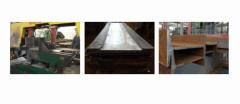 Распил стальных материалов