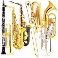 Rent, hire of wind instruments