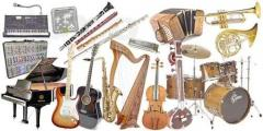 Rent, hire of musical instruments in Kiev