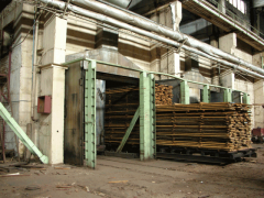 Services of drying of timber
