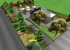 Проектирование детских и спортивных площадок, благоустройство, ландшафтный дизайн