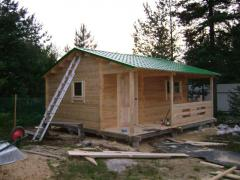 Services in production of country houses Kiev