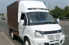 Services of a cargo transportation Gazelle