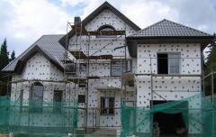 Finishing of facades