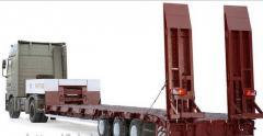 Cargo transportation of not dimensions, trawls
