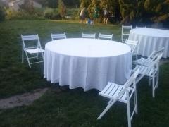 Столы. Прокат разных столов для свадьбы, презентации и других мероприятий