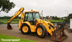 Rent JCB 4CX excavator loader
