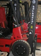 Capital repairs of loaders of Balkancar