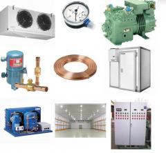 Обслуживание промышленного холодильного оборудования