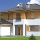 Проект двухэтажных каркасных домов