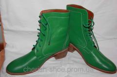 Кожаная обувь на заказ